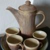 Na objednání - 870 Kč, čajová souprava, konvice a 4 hrnečky, dodací doba 3 týdny