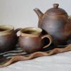 Na objednání - 1280 Kč, čajová souprava s podnosem, hrnky se jmény na přání, dodací doba 3 týdny