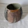 Skladem - 250 Kč, kameninová váza s jemné šamotové hlíny