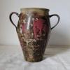 Skladem - 320 Kč, kameninová váza s uchy