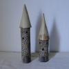 skladem - věžičky na svíčku, cca 450 Kč