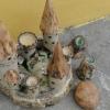 na objednávku - hrad na svíčky, cca 50 cm, 4000 Kč